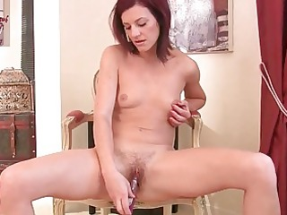 hawt redhead mother i babe masturbates for the