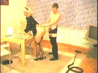 russian aged in dark nylons and heels