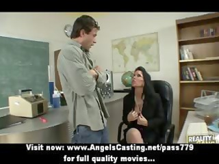 badass mother i does oral stimulation and titsjob