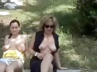 Naked public whit my g/f