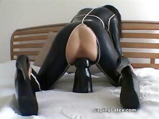 naughty mature whore goes avid fake penis part10