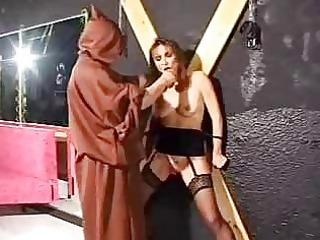servitude aged villein in torture