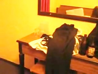 Lonely housewife sucks cock in motel in mexico