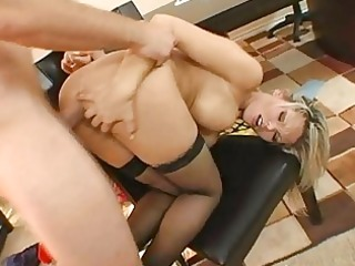enchanting busty golden-haired mother i gets her