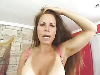 sexy tanned older with unshaved vagina screwed by