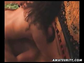 chunky amateur oriental wife sucks and copulates