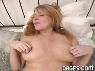 breasty d like to fuck acquires her pussy toyed