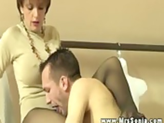 perverted breasty older plays with fellows
