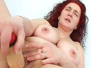 fake penis in aged cunt ant studio