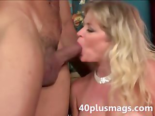 blond aged girl willing to play