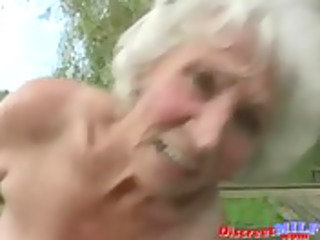 aged granny acquire screwed by juvenile man