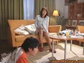 sexually excited japanese older women engulfing