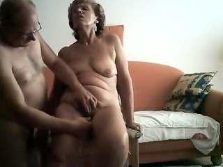 sexually concupiscent granny receives her obscene