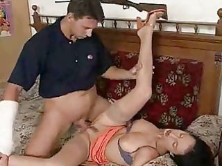 brunette hair d like to fuck acquires all 9 holes