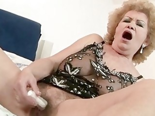 busty lesbo granny for lovely b