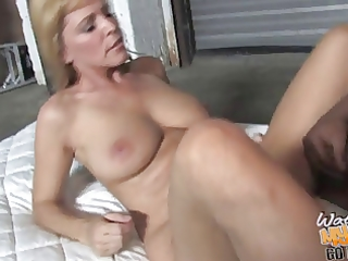 aged mommy nicole moore takes bbc in her old