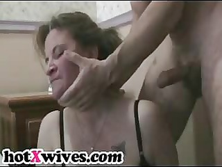 sexually excited ex wife acquires coarse face