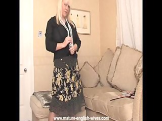 chubby golden-haired mother i with large mounds