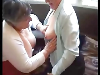 grannies try out their toys