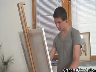 naughty granny positions for juvenile artists
