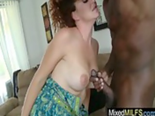 dark dick fucking concupiscent hot busty mother i