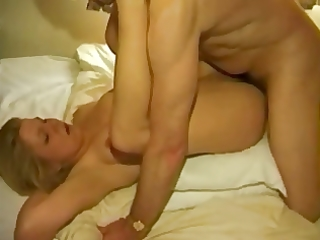 hubby films youthful wife with aged stud