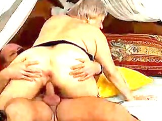 avid old mama acquires ejaculation sex
