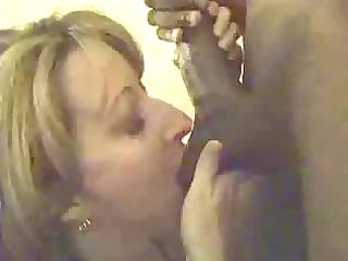 white wife engulfing biggest dark penis
