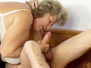 corpulent big beautiful woman granny
