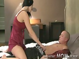 mommy cougar wife copulates her paramour