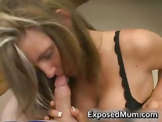 hawt mum with giant juggs sucks unyielding rod