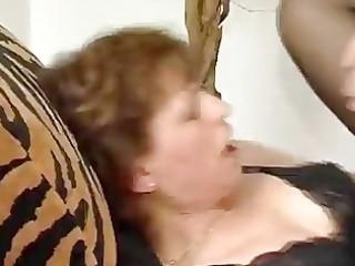 unbending weenie for aged german lady