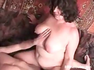 bbw granny loves to gulp and fuck