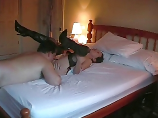 hot aged lady acquires oral sex