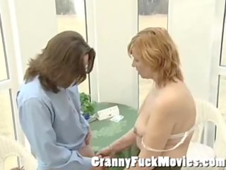 Plump granny want to fuck the postmen