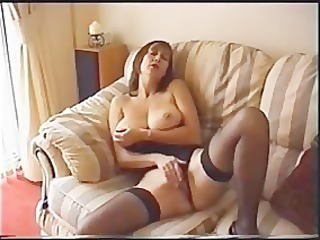 sexy milf solo toying