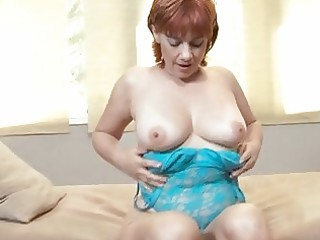 breasty mature redhead
