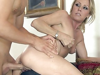 older bitch used hard and coarse