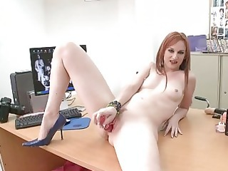 hot redhead d like to fuck chick roughly screwed