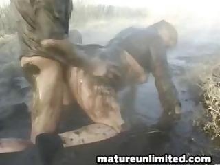 mammas immodest fuck outdoor
