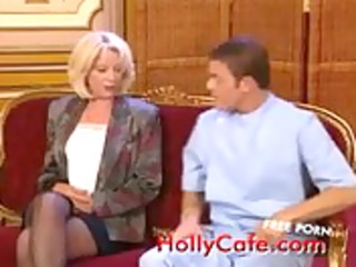 mother i double penetration in nylons