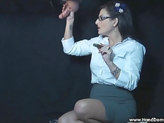smokin femdom magnificence gap cook jerking by