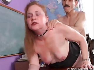 perverted aged hottie spicy enjoys a hard fucking