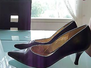 cum in wifes patent court shoe