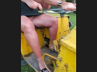 sexy mother i dumper truck driver