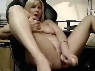 hawt clip of my wife masturbating. amateur older