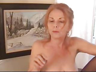 hairy bossy granny in hose
