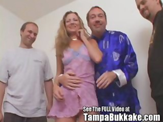 milfy redhead sherry acquires banged and bukkaked