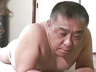 mature oriental lad receives drubbing