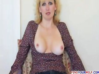hawt aged wife gives oral-stimulation and